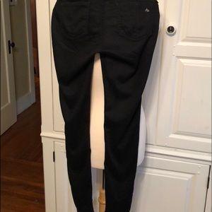 Rag and Bone black legging jeans